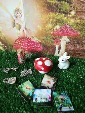fairy garden mushroom accessories,rabbit  miniature fairy photos &camera glasses