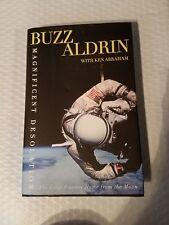 Magnificent Desolation Astronaut BUZZ ALDRIN, SIGNED, NASA Apollo 11 Moon 1st ed