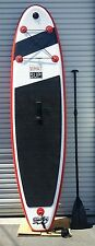 """Stand Up Paddleboard - WHAT SUP - 10' 0"""" INFLATABLE. Bag, Leash, Fin, Pump, Kit"""