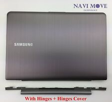 Samsung NP535U3C NP530U3C NP530U3B LCD Back Cover W/ Hinges + Hinges Cover USA