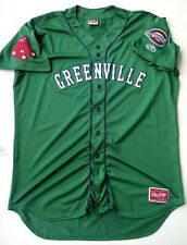 GREENVILLE DRIVE BOSTON RED SOX A MINOR LEAGUE BASEBALL RAWLINGS JERSEY SIZE 2XL