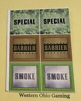 Marvel Heroclix Special Barrier Smoke Tokens NEW X-Men Danger Room