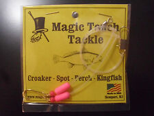 Magic Touch Tackle No.355 Hi-Lo Rig for Perch Spot Kingfish *PINK*