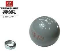 NEW OEM TOYOTA TRD 6 SPEED GRAY SHIFT KNOB