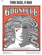 "Stephen Schwartz ""GODSPELL"" John-Michael Tebelak 1973 Off-Broadway Sheet Music"