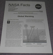 NASA Facts Mission to Planet Earth Series Global Warming 1994