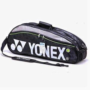 Yonex 200B Badminton Racquet Bag Also For Squash & Tennis Black