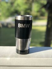 """BMW Thermos / Travel Mug Stainless Steel Thermal Coffee Cup """"Grill"""" Design"""