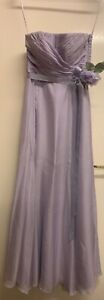 Coast strapless bridesmaid dress size 8 worn once from smoke free house