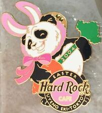 Hard Rock Cafe UYENO-EKI TOKYO 2004 EASTER PIN Dancing Panda in Bunny Suit 22055