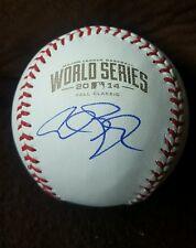 ALEX GORDON signed 2014 World Series Baseball KANSAS CITY ROYALS w/COA