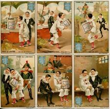 Chromo Liebig Sang. 419 TED Pierrots Dalle Lunghe Dita (furto) ANNO 1894