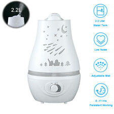 2.2L Ultrasonic Cool LED Aroma Air Humidifier Diffuser Purifier Air Atomizer