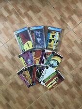Watchmen complete set (#1-3 CGC graded, #4-12 ungraded)