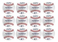 Rawlings Official Major League Leather Baseballs 1 Dozen ROMLB MLB Manfred