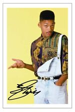 WILL SMITH SIGNED PHOTO PRINT AUTOGRAPH FRESH PRINCE OF BEL AIR