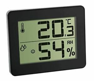 TFA Dostmann Digital Thermo-Hygrometer includes L-Batteries, Multi-Colour, 9.9 x
