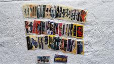 TURBO POWER 1-56 PIECES VERY RARE BUBBLE GUM STICKERS WRAPPER PICS VINTAGE