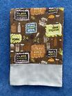 Beer time Flannel Pillowcase -Handmade-name option-standard/queen Mom Dad gift