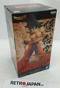 Figura anime Dragon Ball Z Son Goku III Maximatic Bandai Banpresto