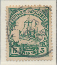 German South West Africa Stamp Scott #14, Used