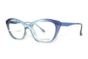 BRAND NEW CALVIN KLEIN CK5913 422 BLUE GRADIENT WOMENS RX EYEGLASSES 53-18-140