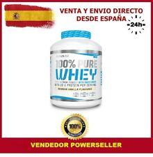 100 % PURE WHEY 2,270 KGS. - BIOTECH USA Sabor FRESA - PROTEINAS
