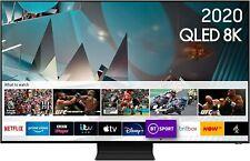 "SAMSUNG QE65Q800T 65"" Smart 8K (2020) HDR QLED TVPlus/Freesat Free Delivery"