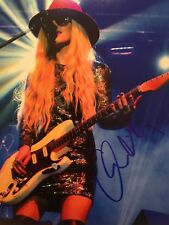 ORIANTHI PANAGARIS Signed Autographed COLOR 8x10 PHOTO Guitarist RICHIE SAMBORA