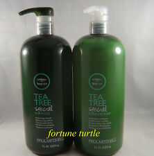 PAUL MITCHELL TEA TREE SHAMPOO CONDITIONER 1 liter   Cheap New