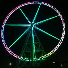 289' Ferris wheel Theme Park Thrill Ride Commercial 88 Meter Tall We Finance