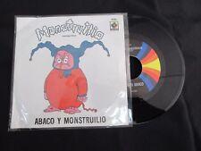 """GRUPO ABACO & MONSTRUILIO TEMA DE MONSTRUILIO MEXICAN 7"""" SINGLE PS CHILDREN"""