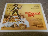 THE WICKED LADY(1983)FAYE DUNAWAY 1/2 SHEET POSTER ROLLED