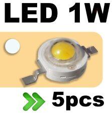 530/5# LED 1W Blanc froid --- 5pcs