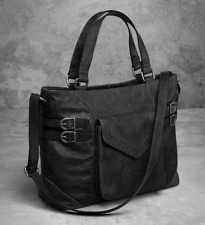 Harley-Davidson Womens Distressed with Perforated Accents Tote Bag 97771-17VW