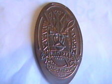 ELONGATED COIN ADVENTURE LAND MAGIC KINGDOM ELONGATED COIN PENNY CENT