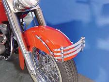 "Front Fender Trim Bumper Grill Panhead 4-Speed Dresser Rigid 74"" FL 1955-1957"