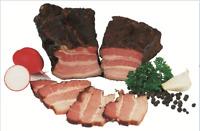 Food-United Brotzeitrankerl 600 g schwarzgeräuchert aus mageren Schweinebäuchen