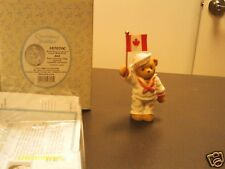 Cherished Teddies ^ Canadian exclusive   JOEL   Wear Your Country's Colors 2002