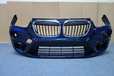 BMW X1 F48 Stoßstange Stoßfänger vorne mediterranblau metallic front bumper