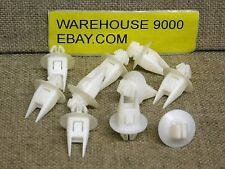 10 Garnish Clips Auveco #19843 Toyota Rav 4 OEM: 75498-42010 From 1996 - On