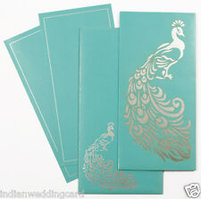 Wedding Invitations Cards Personalized Laser Cut Peacock Design Wedding Cards