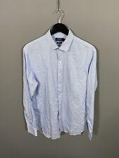 RALPH LAUREN Shirt - Size 16.5 - Slim Fit - Striped - Great Condition - Men's