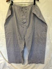 Men's PURITAN White/Red/Blue Pajamas Lounge Pants - Size 3X