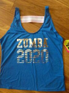 Zumba Fitness Shirt Top * 2020 Tank * Gr. L / 40-42 *NEU*