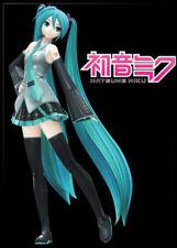 Hatsune Miku Image on Black Refrigerator Magnet, NEW UNUSED