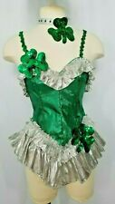 IRISH MAID COSTUME,YOU'LL STEAL THE SHOW & TAKE THE GREEN - HALLOWEEN PERFECT!