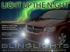 Xenon Halogen Fog Lamps Driving Lights Kit for 2001-2017 Dodge Grand Caravan