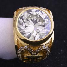 8.08 ct Round Diamond GIA N VS2 Ring Mens Custom Unique Mens Ring!  Big, Large.