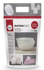 1 kg RAYSIN 200 Gießmasse zum Gießen RAYHER für Deko-Ideen WEISS 3699000